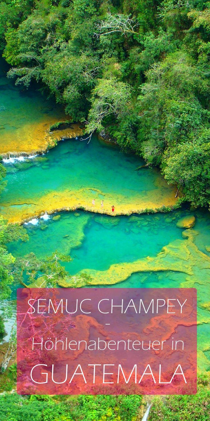 Guatemala-Semuc-Champey-Aussicht-Pin