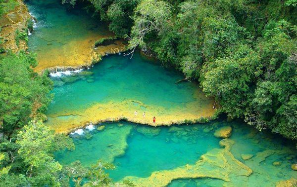 Semuc Champey - Höhlenabenteuer in Guatemala