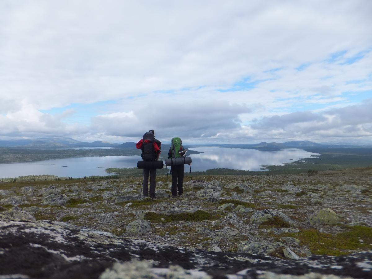 Wandern in Schweden - Der Südliche Kungsleden - Teil 2: Fjällnäs bis Grövelsjön