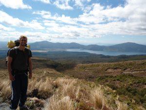 Neuseeland-Tongagiro-Aufstieg-Aussicht