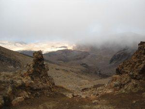 Neuseeland-Tongagiro-Dritter-Krater