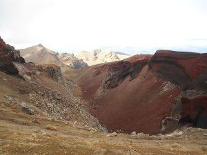 Neuseeland-Tongagiro-Roter-Krater