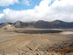 Neuseeland-Tongagiro-Zentraler-Krater