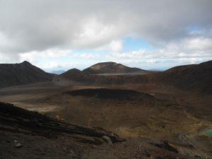 Neuseeland-Tongagiro-Zentraler-Krater-Uebersicht