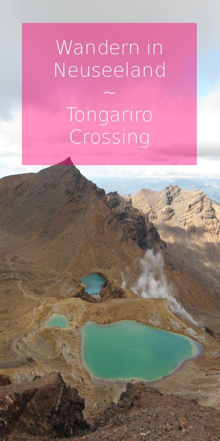 Neuseeland-Wandern-Tongagiro-Crossing
