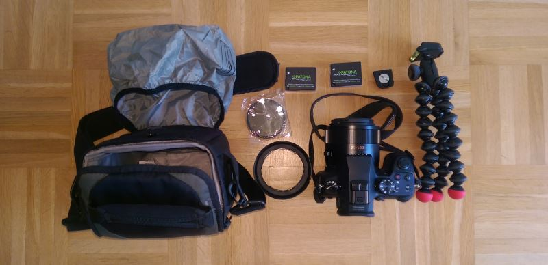 Kamera-Wandern