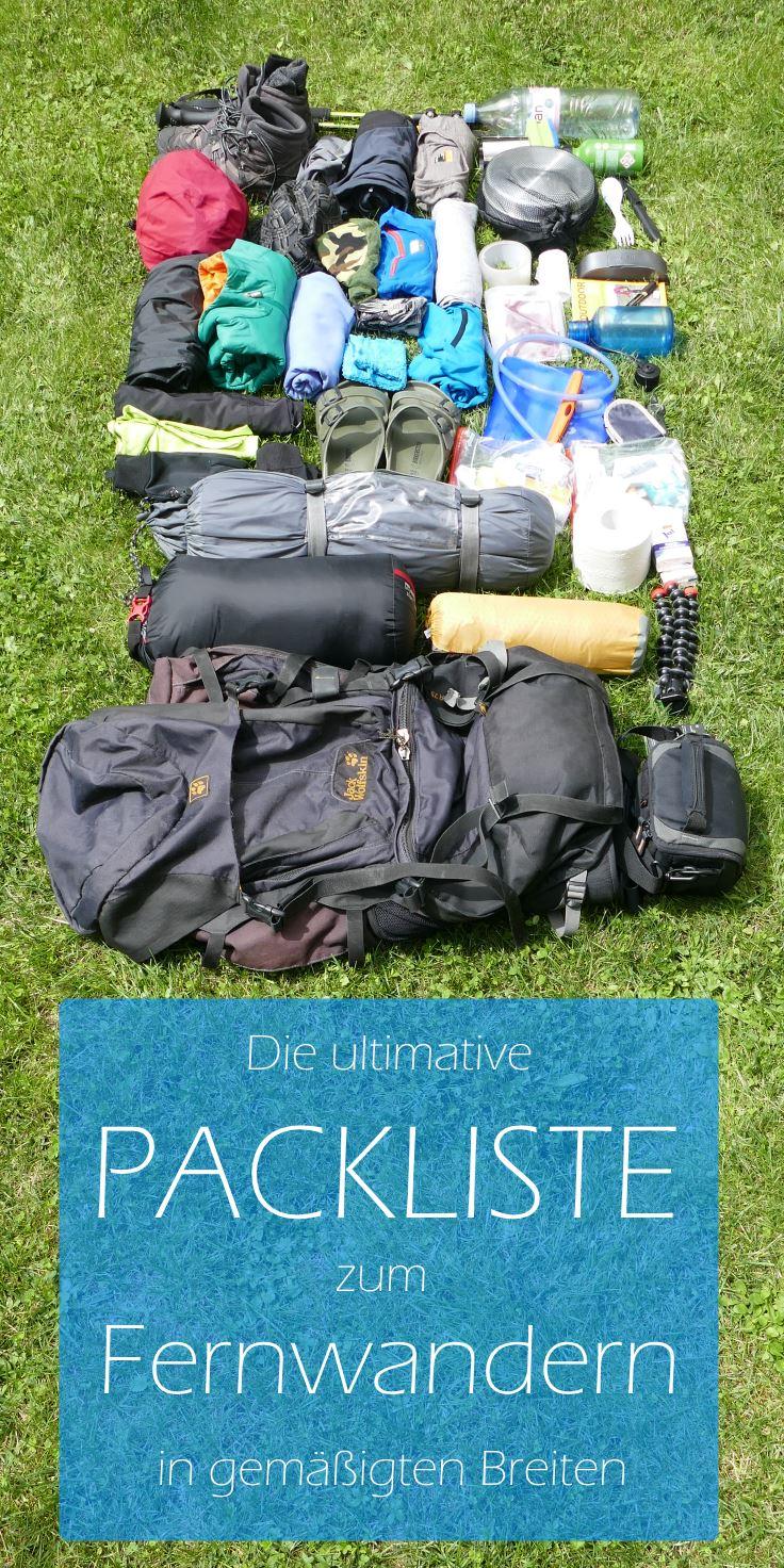 Packliste-Fernwandern-Pinterest-Titelbild