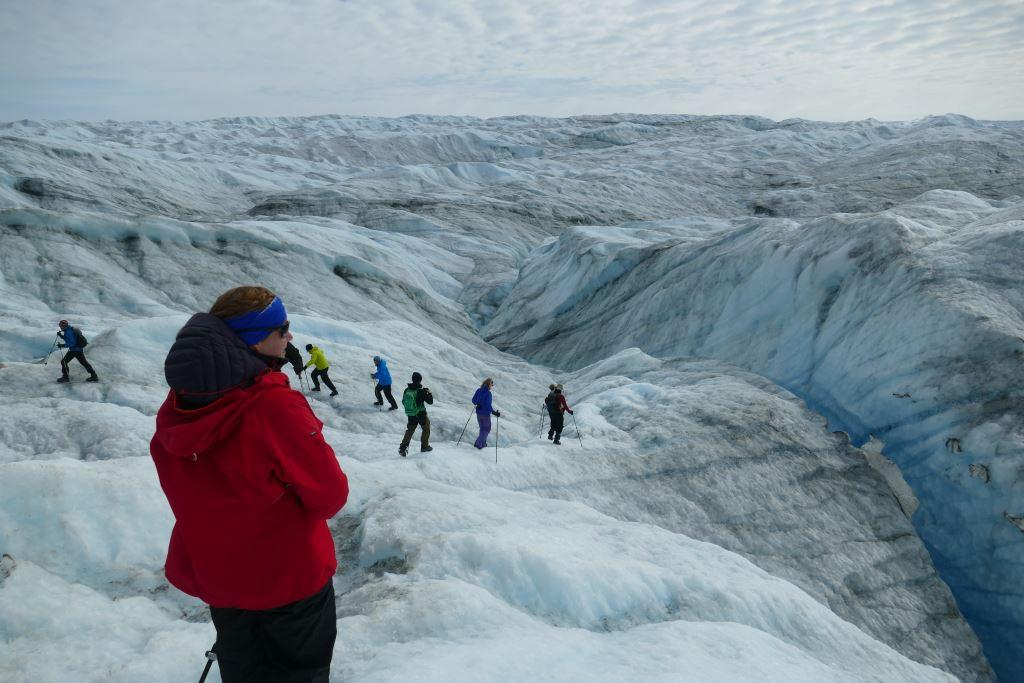 Grönland-Inlandeis-Jahresringe