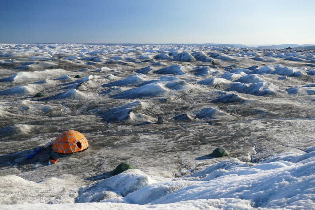 Grönland-Inlandeis-Lager