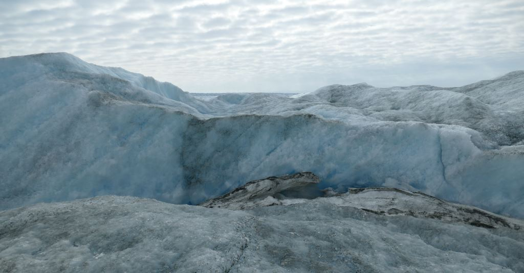 Grönland-Inlandeis-Mauer