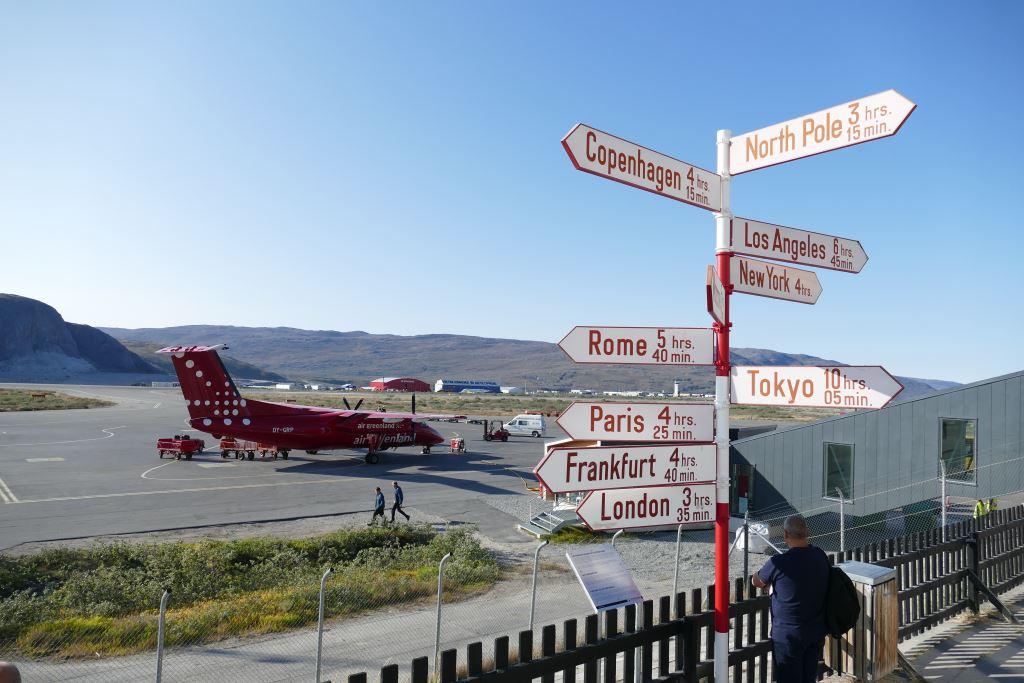 Grönland-Kangerlussuaq-Flughafen