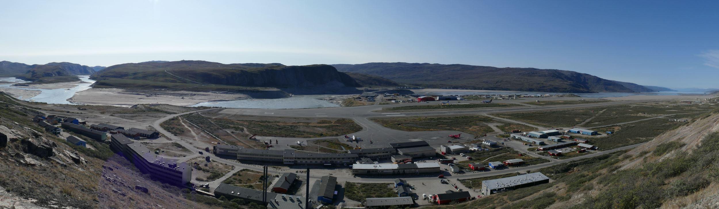 Grönland-Kangerlussuaq-Panorama