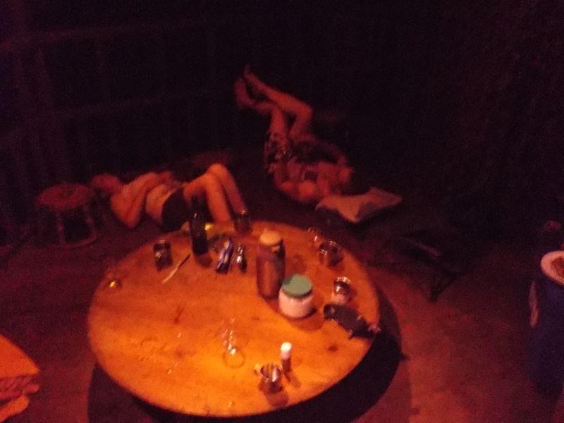Laos-Gibbon-Experience-Nacht