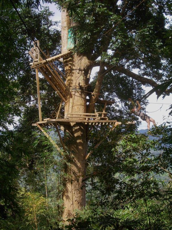 Laos-Gibbon-Experience-Zwischenstopp