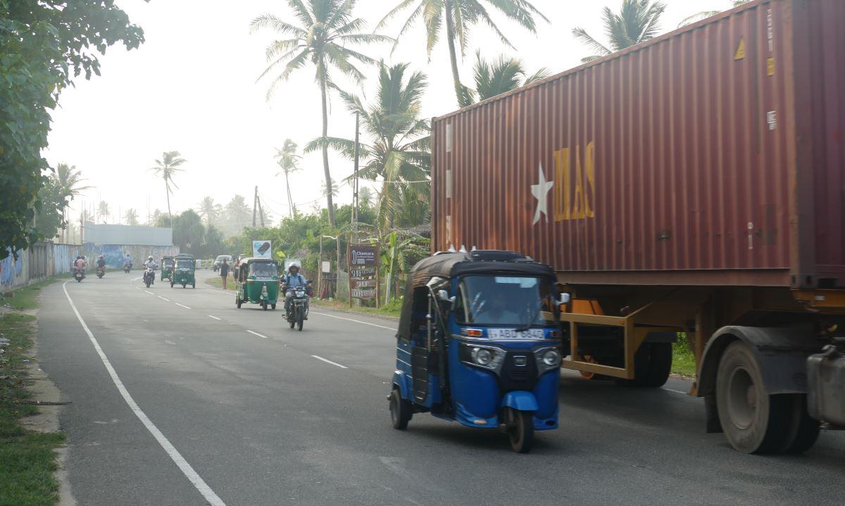 Sri Lanka-Verkehr-TukTuk