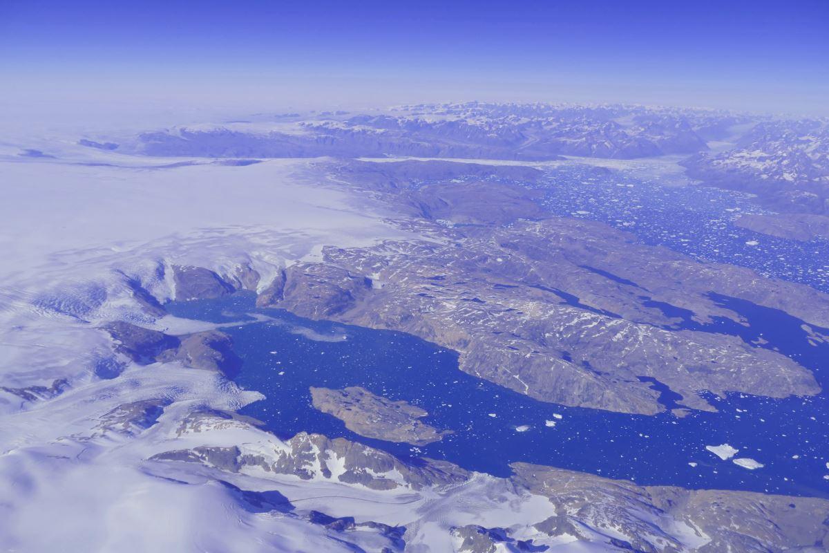 Grönland-Anflug-Aussicht-Ostküste