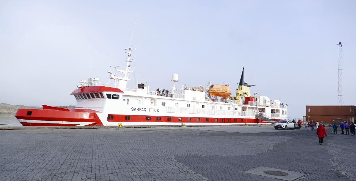 Grönland-Arctic-Umiaq-Line-Fähre