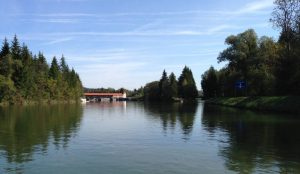 Isarfahrt-SUP-Wehr-Icking-Kanal