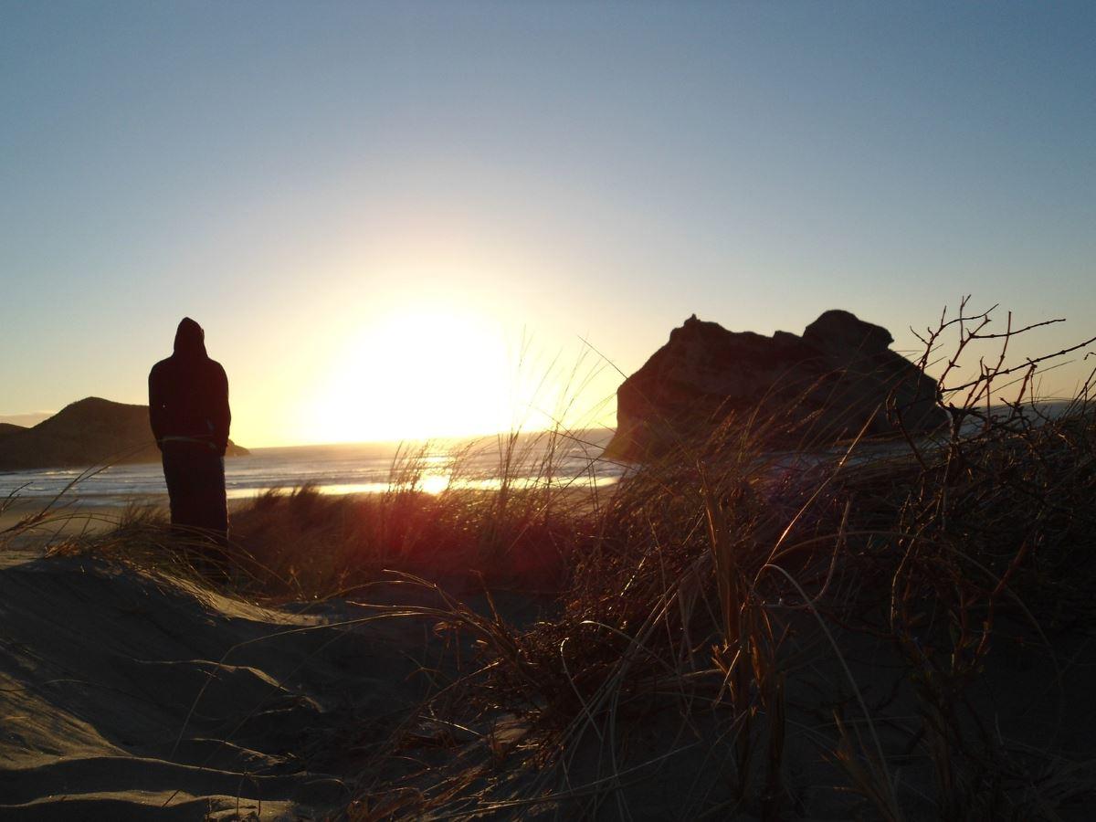 Bonusland-Strand-Sonnenuntergang